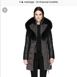 Woman's LG Mackage Coat